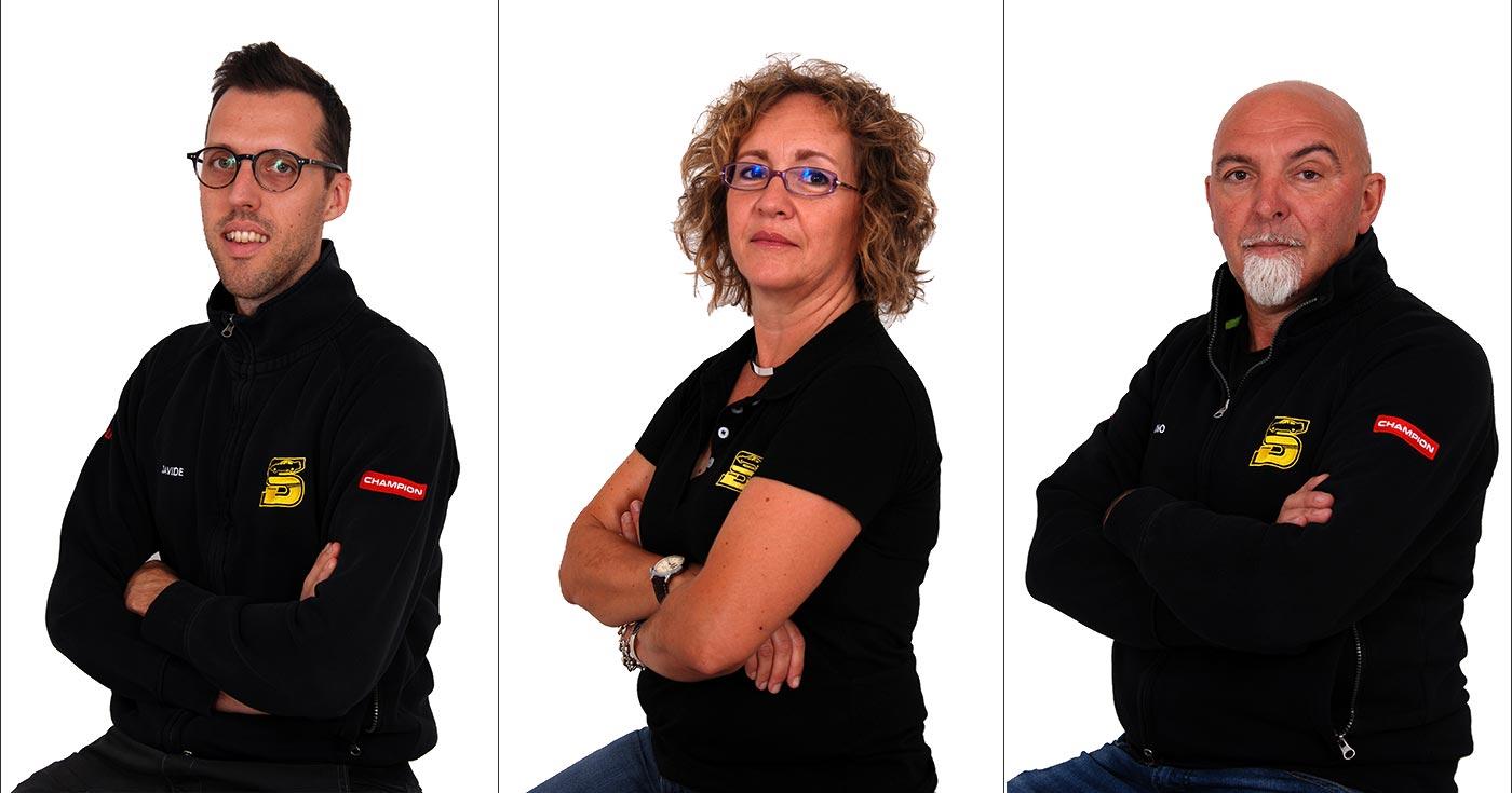 foto team Autofficina Schiavo Dino e Figli